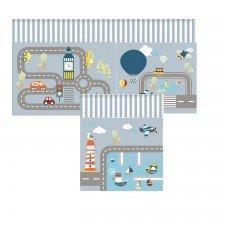 Transport Spielvorhang für mittelhohe Betten und Etagenbetten