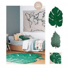 Lorena Canals Pack Monstera Leaf