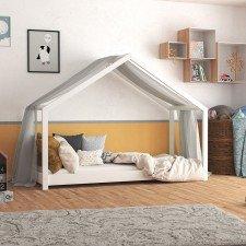 Hausbett Lara in weiß (Abbildung ähnlich)