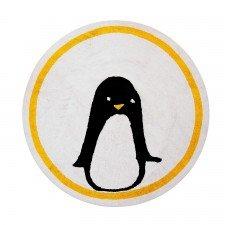 Teppich Pinguin 140 cm rund