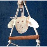 Seiltasche Schaf für Hängestuhl