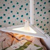 Eckablage mit LED Licht, weiß (zum Einhängen an Lifetime-Betten)