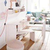 Regalmodul Play & Store: Regal/ Schreibtisch/ Bank in einem Möbel