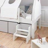 Mini-Treppe für Liegen/ Etagenbetten, diverse Farben