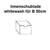 Schublade whitewash für 50cm Endlosschrank