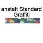 Absturzsicherung Graffiti anstatt Standard