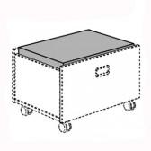 Sitzpolster für Rollbox Mikrofaser (Kira/Fionn/Fiona/Ylvie)