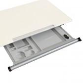 *Schublade plus mit Dämpfung inkl. Utensilienschale und Faber-Anspitzer