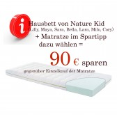 Matratze Dream & Explore Junior, 90 x 160 cm - Sonderpreis