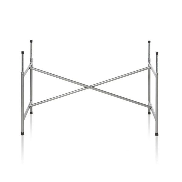Kindertischgestell in Stahl natur