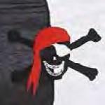 Farbmuster 33 Pirat NEU