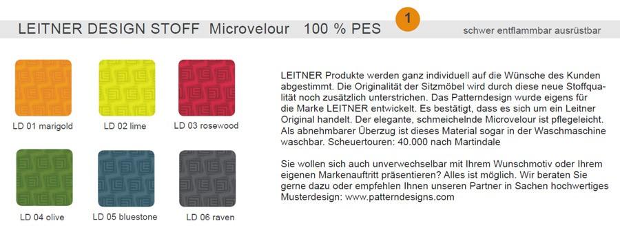 Leitner Design Stoff (Preisgruppe 1)