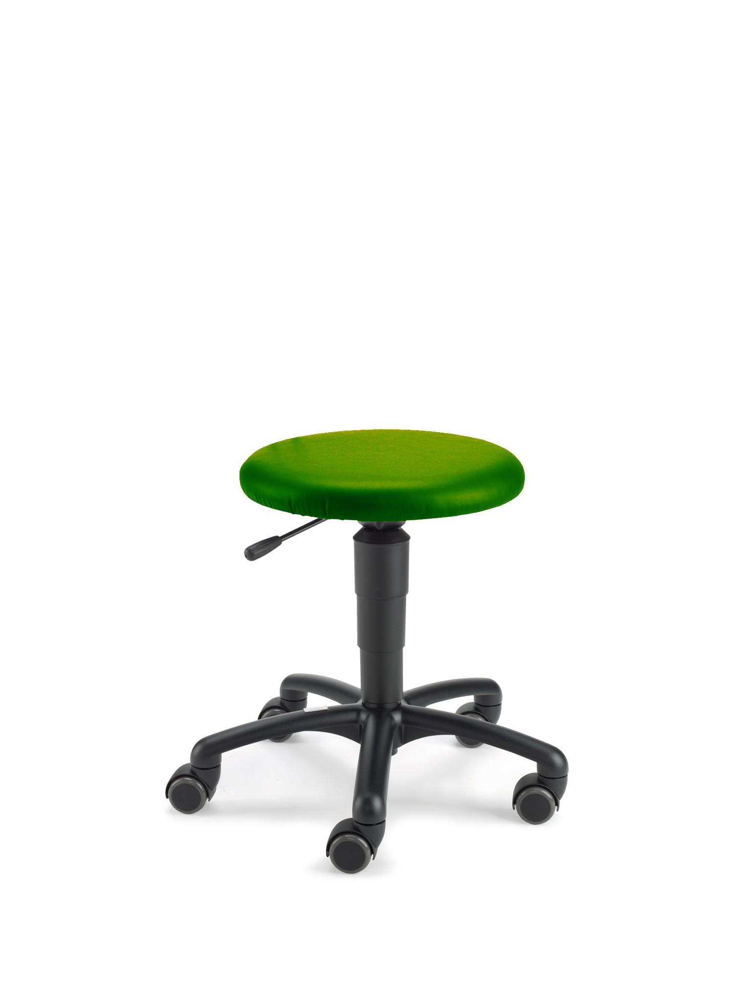 Beispiel mit Kunstlederbezug grün (Farbe nachgestellt)
