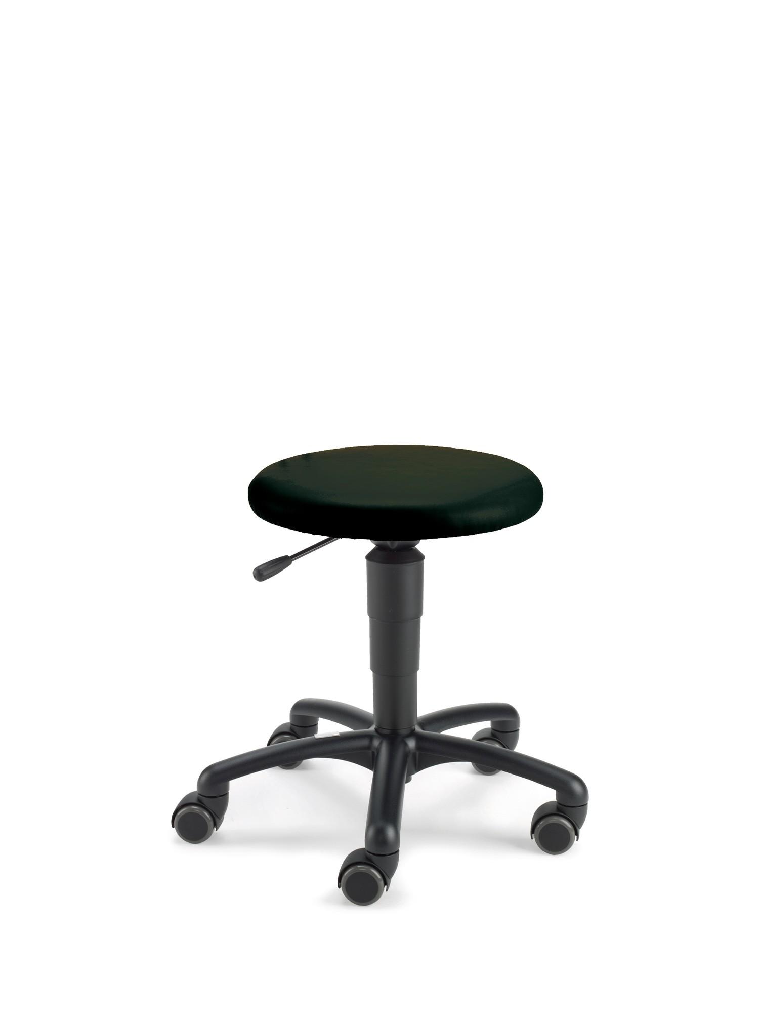 Beispiel mit Kunstlederbezug schwarz (Farbe nachgestellt)