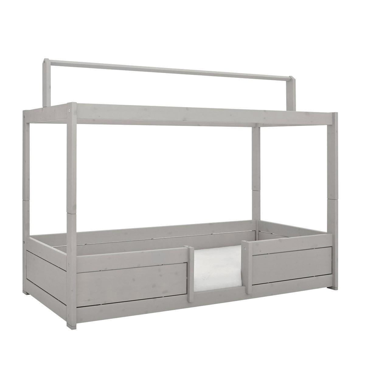 Lifetime 4 in Bett mit Dachkonstruktion in grey