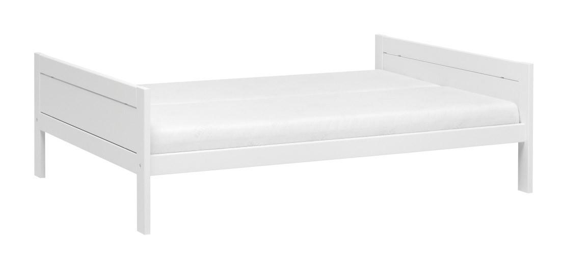 Lifetime Jugendliege 140cm breit in deckend weiß