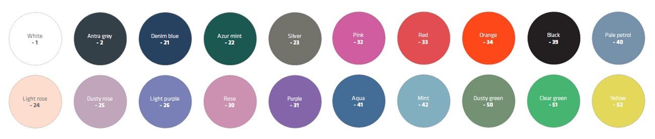 In diesen Farben können Sie Ihre Absturzsicherung erhalten.