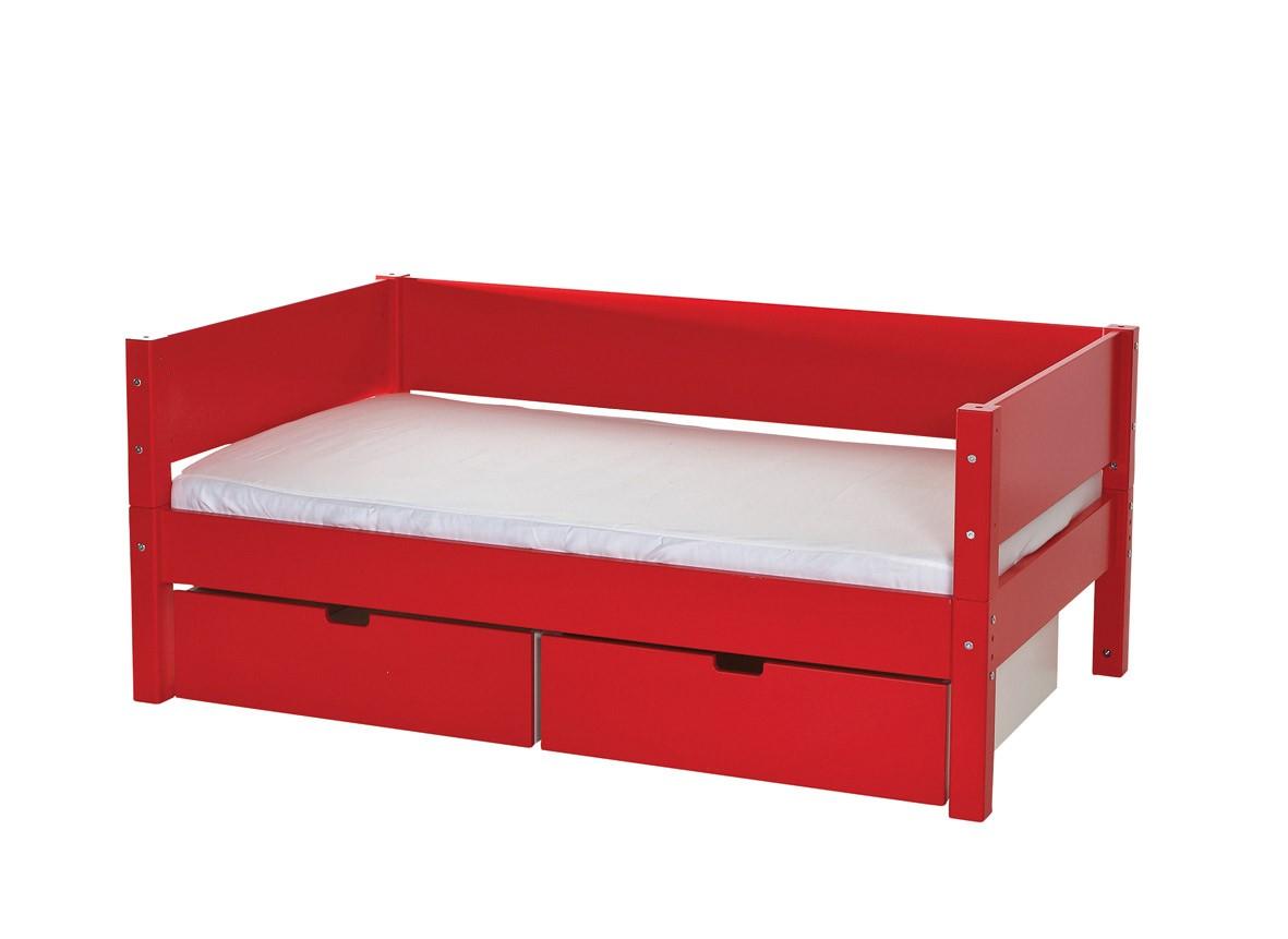 Beispiel unter einem Juniorbett.