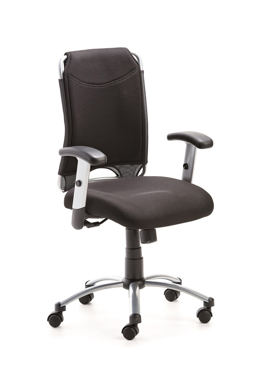 Drehstuhl Spirit 2275, Farbbeispiel schwarz / schwarz (Dieses Angebot ohne Armlehnen, leider gibt es keine Bilder ohne Armlehnen)