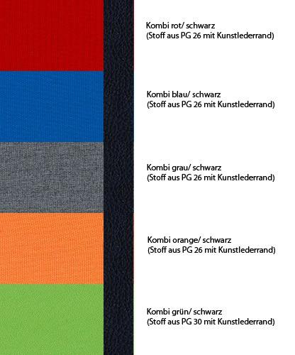 Alle Farbkombinationen mit Kunstlederrand