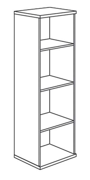 paidi bruno standregale im wallenfels onlineshop. Black Bedroom Furniture Sets. Home Design Ideas
