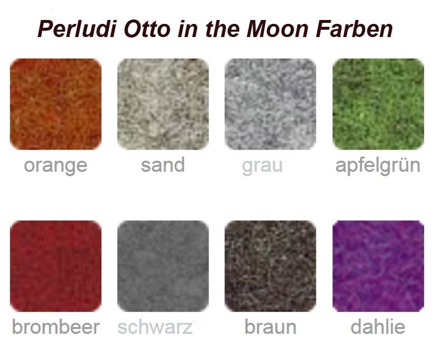 Perludi Farben 2017 (Farben können je nach Monitoreinstellung in der Realität abweichen)