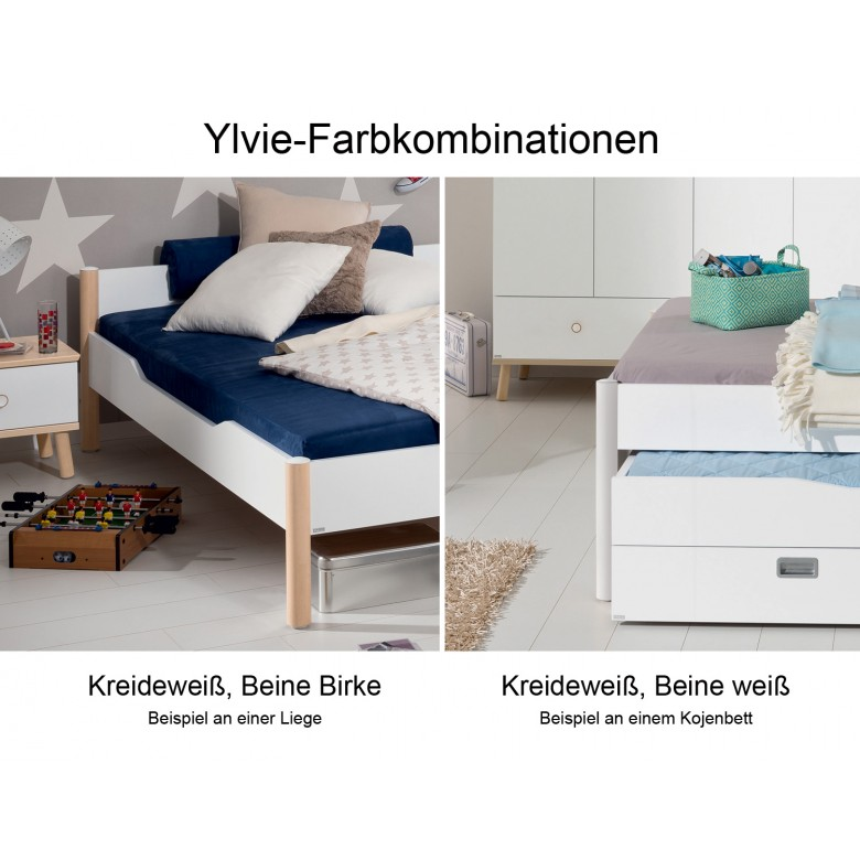 paidi ylvie liege b 140cm erweiterbar in alle hochbetten im wallenfels onlineshop. Black Bedroom Furniture Sets. Home Design Ideas